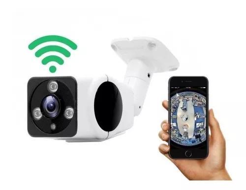 Câmera ip 360 externa wifi prova d'água de facil acesso k5