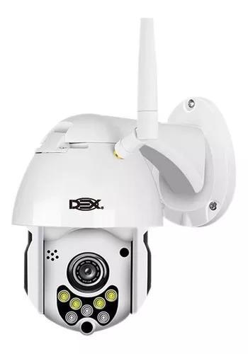 Câmera ip hd externa speed dome zoom 4x wifi prova de água