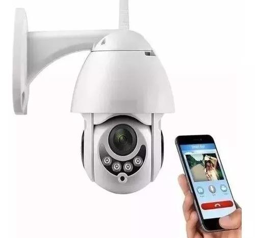 Câmera ip wifi rotativa externa dome prova de água hd