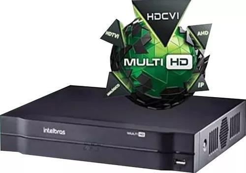 Dvr gravador digital intelbras mhdx 1108 hdcvi 8 canais g4*