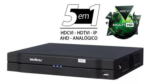 Dvr intelbras 8ch mhdx 1108 g3 multi hd 720p 5x1 cloud p2p