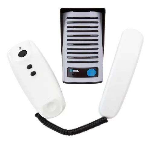 Interfone hdl f8 ntl porteiro eletrônico original com nf