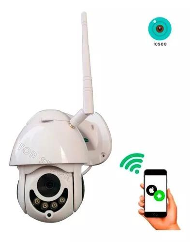 Ip camera seguranca dome wifi 1080p prova d' agua nortuna