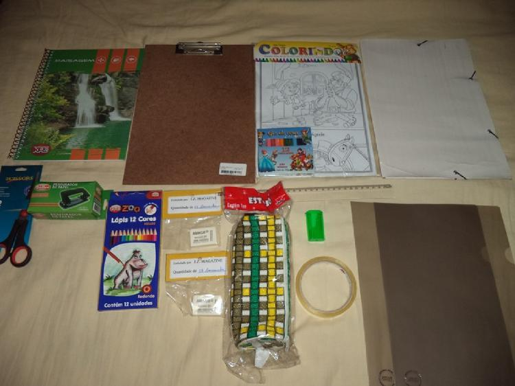 Kit escolar- r$ 60,00