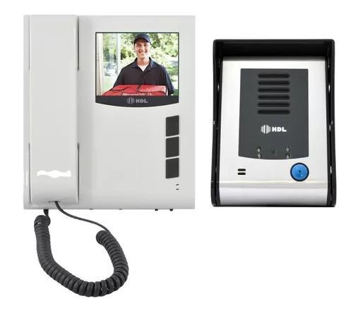 Kit interfone residencial hdl câmera colorida infravermelho