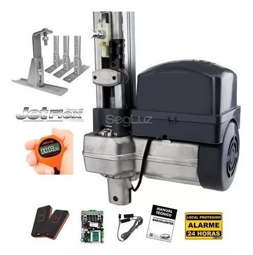Kit motor portão eletrônico basculante jetflex 1/2 +