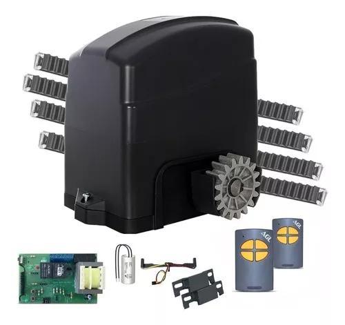Kit motor portão eletrônico deslizante agl trino light 4m