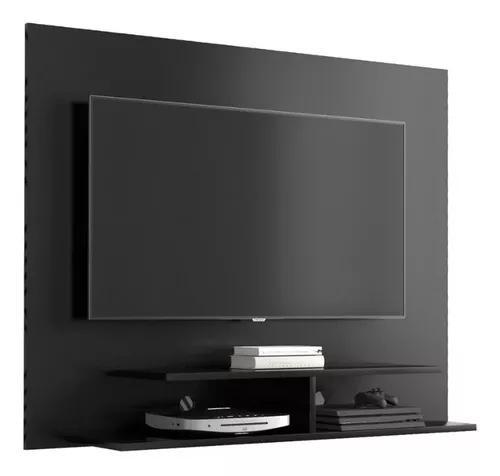Painel tv suporte sala estante veneza 50'' preto - ej