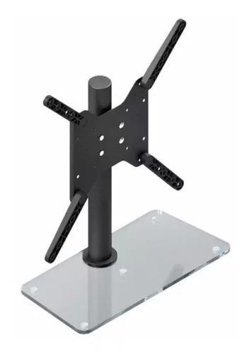 Suporte de mesa para monitores tv blindado de 27 a 55 pol