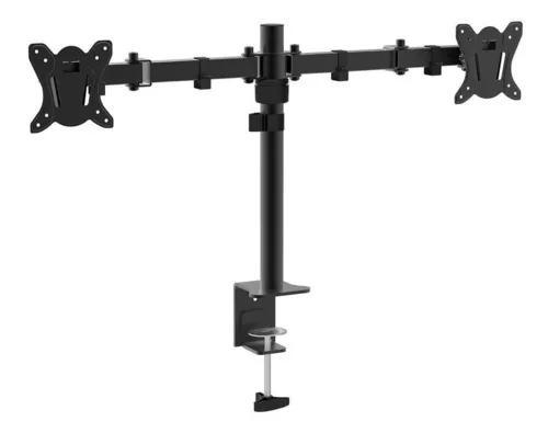 Suporte mesa articulado para 2 monitores vesa 100x100 sm1703