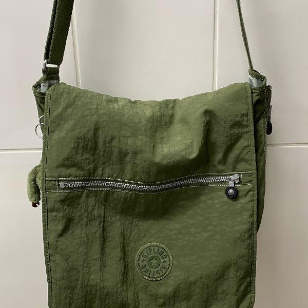 Bolsa para notebook ate 17 kipling verde