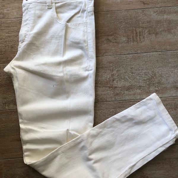 Jeans branco osklen