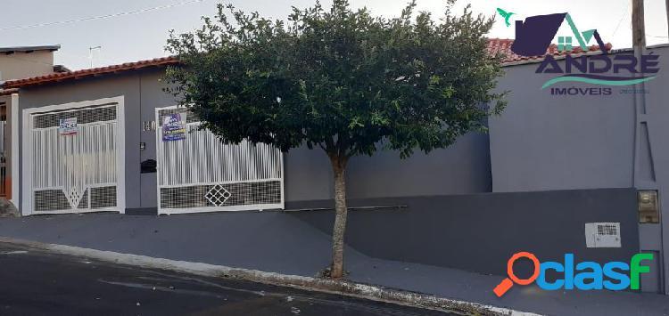 Casa 166 m²,3 dormitórios-01 suíte, piraju /sp