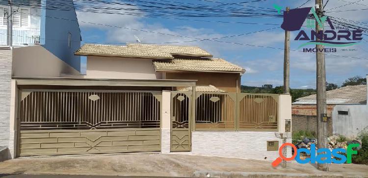 Casa 77,48m², 3 dormitórios, jardim ana maria, piraju /sp.