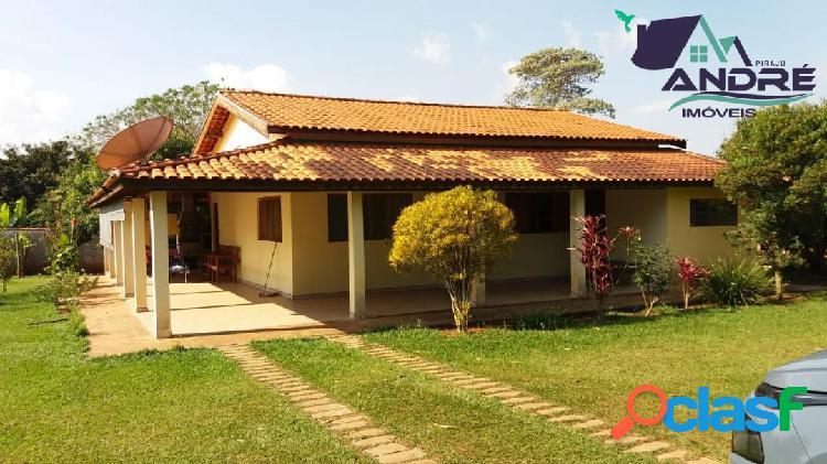 Chácara 2000 m², 4 dormitórios, piraju /sp.