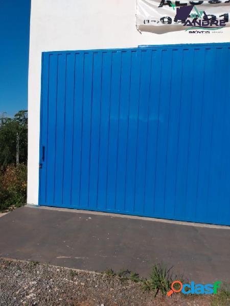 Barracão 320 m², 2 banheiros, piraju /sp.