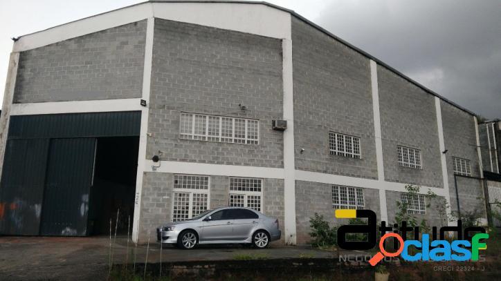 Galpão de 600 m² para locação chácara marcos em barueri