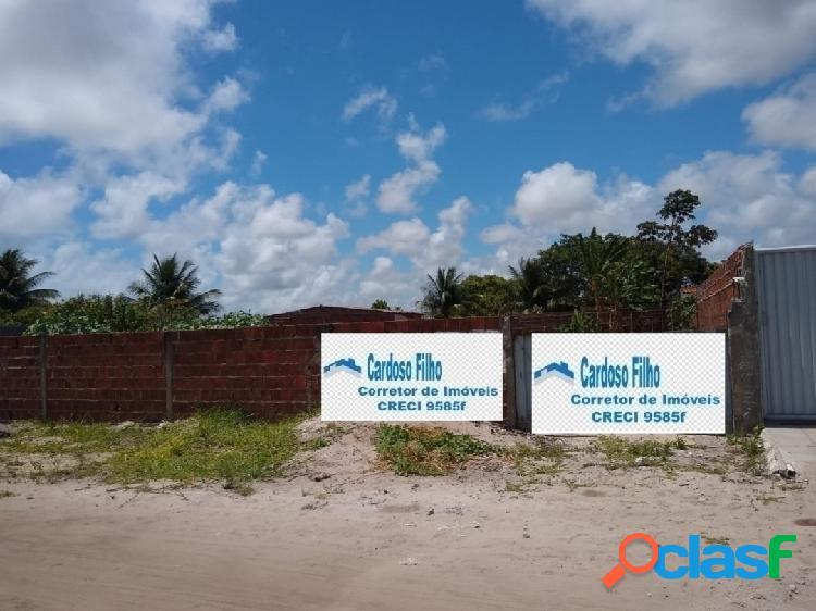Excelente área murada na praia de jacumã litoral sul pb