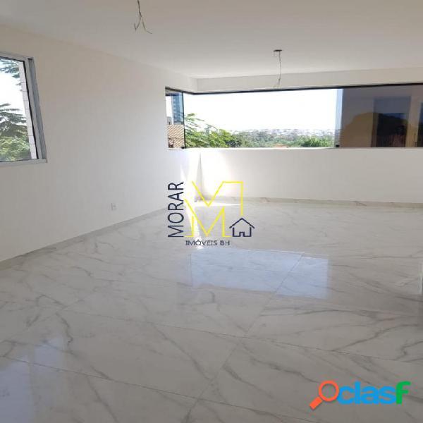 Apartamento com 3 dormitórios à venda, 105 m² - itapoã - belo horizonte/mg