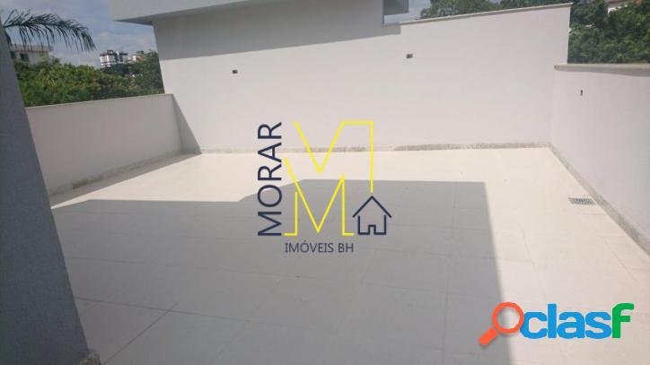 Cobertura com 3 dormitórios à venda, 120 m² santa amélia - belo horizonte/mg