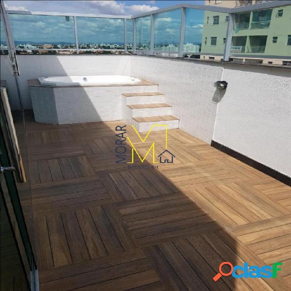 Cobertura com 3 dormitórios à venda, 150 m² por r$ 559.000 - santa mônica - belo horizonte/mg