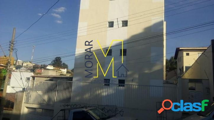 Apartamento com 2 dormitórios à venda, 75 m² - goiânia - belo horizonte/mg
