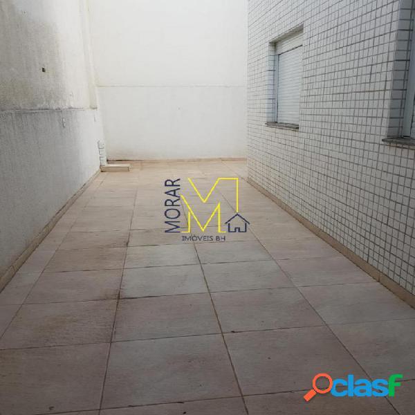 Área privativa com 3 dormitórios à venda, 200 m² por r$ 750.000 - itapoã - belo horizonte/mg
