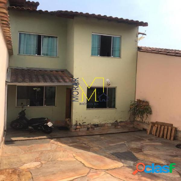 Casa com 3 dormitórios à venda, 180 m² por r$ 519.000 - santa amélia - belo horizonte/mg