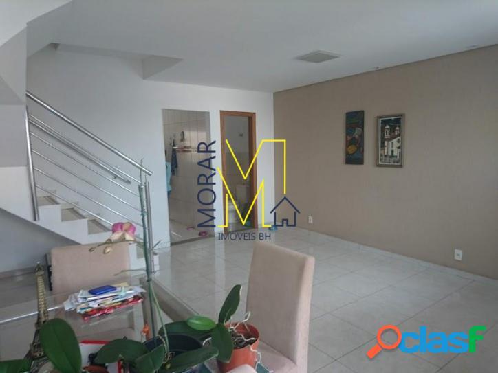 Casa com 3 dormitórios à venda, 140 m² por r$ 479.000,00 - santa branca - belo horizonte/mg