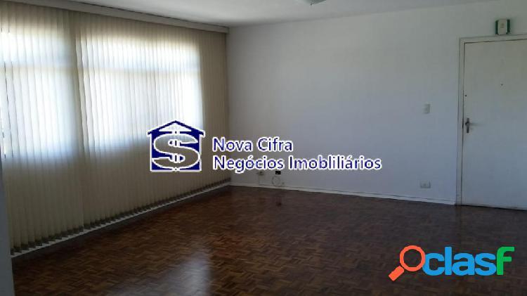 Apartamento 3 dorms (1 suíte) à 900m do pq. santos dumont - 100m²