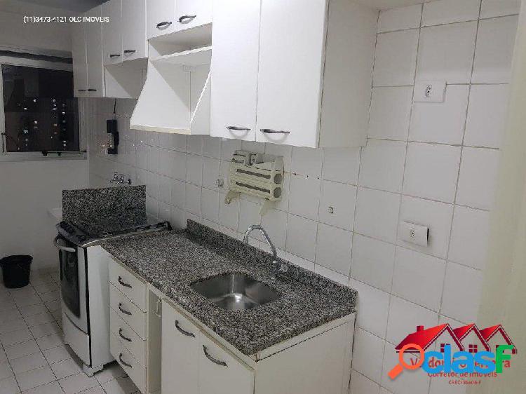 Apartamento com 2 dormitórios próximo ao metrô campo limpo