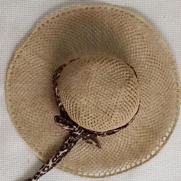 Chapéu maravilhoso para o verão e desfilar lindamente