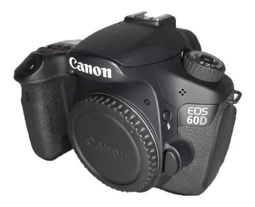 Câmera canon 60d corpo s