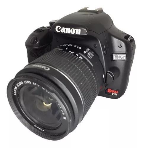 Câmera canon t1i com lente 18-55 mm impecável