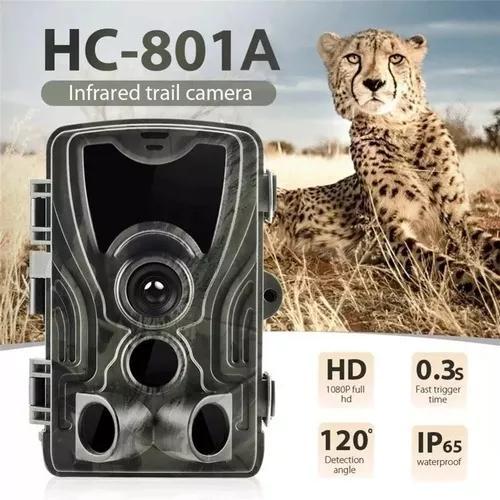 Câmera de trilha visão noturna, observação de animais