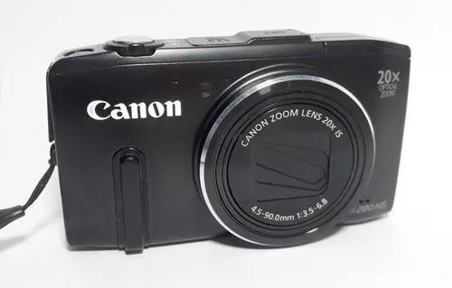 Câmera digital canon power shot sx280 hs wi fi no estado