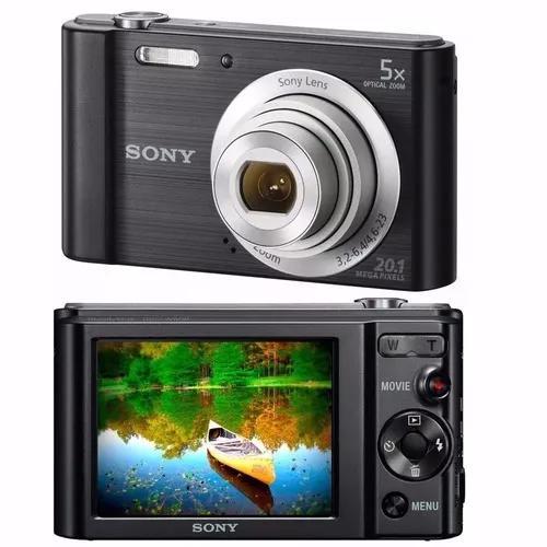 Câmera digital sony dsc-w800 20.1 mp 16gb nota fiscal