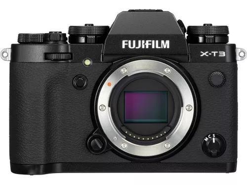 Câmera fujifilm mirrorless x-t3 somente corpo + nf garantia