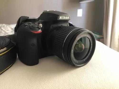 Câmera nikon d3400 + lente 18-55mm nikkor