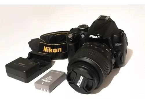 Câmera nikon d5000 + lente + brindes