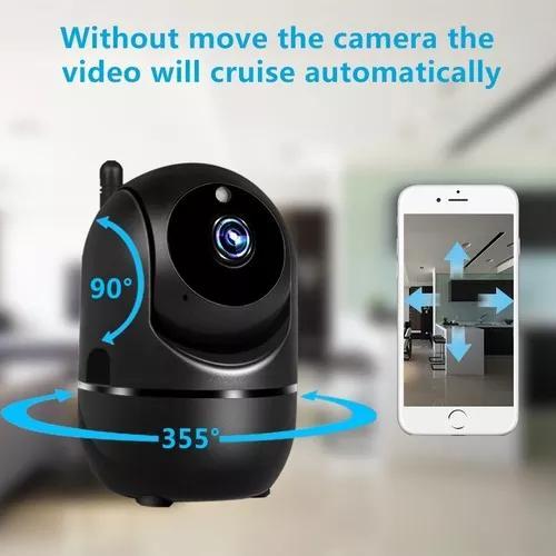 Câmera segurança smart wifi cctv s/fio hd envio24hs