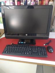 Computador empresarial hp all-in-one 4gb /500gb hd