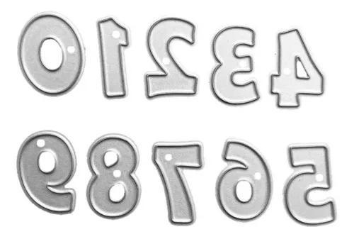 Diy 0-9 números forma de aço carbono die gravação