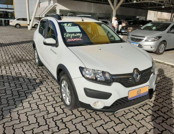 Renault sandero stepway hi-power 1.6 8v 5p flex - gasolina e