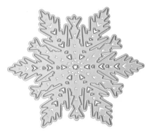 Seta de floco de neve corte morre estêncis scrapbook de
