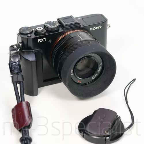 Sony rx1 full frame lente 35mm f2 sensacional com grip hood