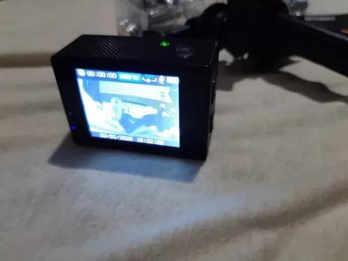 Ultra câmera action go pro sports 4k, wi-fi prova d'água