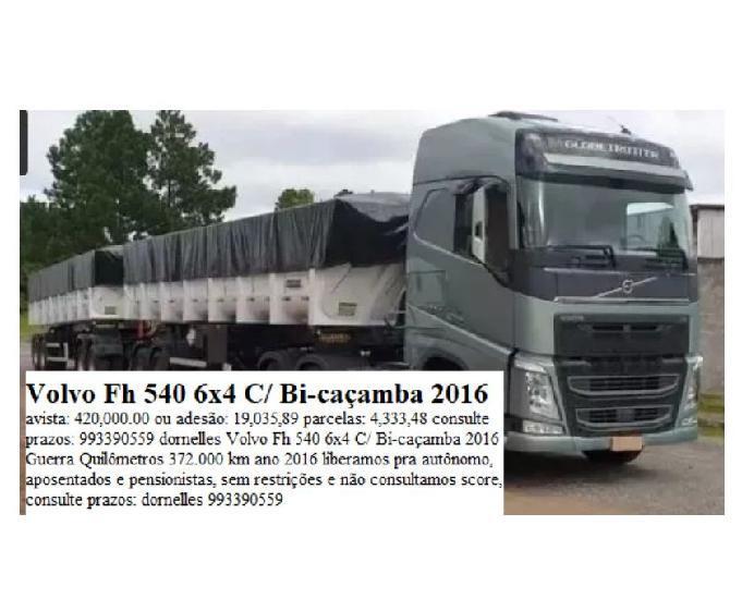Volvo fh 540 6x4 2016