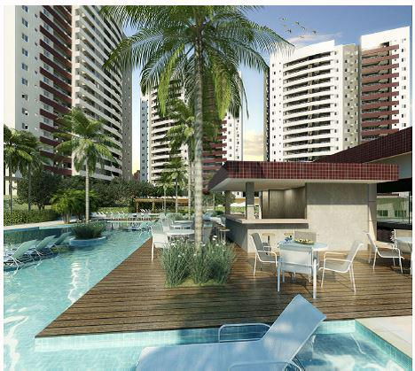 Vila margarida   apartamento 2 quartos, sendo 2 suites