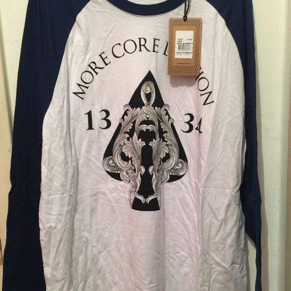 Camiseta mcd manga longa